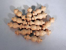Oak Gallery Spindles 1-7/16 inch | Bear Woods Supply