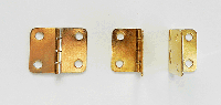 Brass Plated Box Hinges