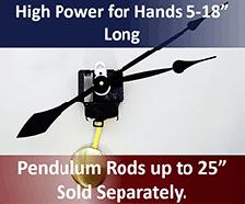 High Torque Pendulum Clock Movements