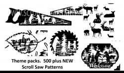 photo about Printable Scroll Saw Patterns for Beginners named Scroll Noticed Types - Totally free and For Invest in Go through Woods Present