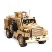MRAP Cougar Wooden Model Pattern| Bear Woods Supply