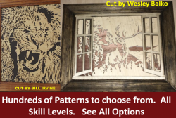 scroll saw patterns selection