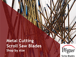 Scroll Saw Blades by Pegas and Niqua | Sample Packs