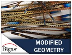 Pegas Modified Geometry Scroll Saw Blades