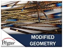 Pegas Modified Geometry Scroll Saw Blades