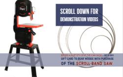 Pegas Scroll Bandsaw
