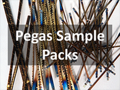 Pegas Scroll Saw Blades Sample Packs