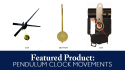 pendulum clock parts, replacement clock parts