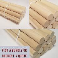 Buy Poplar Dowel Rods