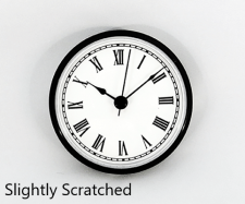 Slightly Scratched Clock Insert | Bear Woods Supply