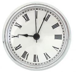 Q-94SLVR clock insert
