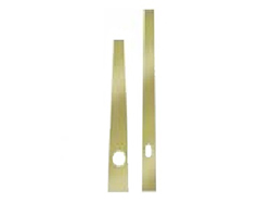 Clock Hands 3-3/8 Brass (For up to 8 Dial diameter)