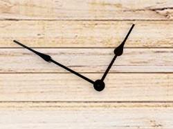 Clock Hands 7 for High Torque Movements, Black