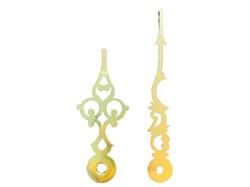 4-11/16 Brass Serpentine Clock Hands