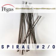 Spiral Tooth Blades number 2/0 by Pegas