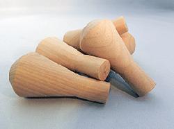 """Wooden Smokestack 1-5/8"""" X 3-1/4"""" (3/4"""" Tenon Diameter)"""