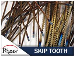 Skip Tooth Scroll Saw Blades by Pegas