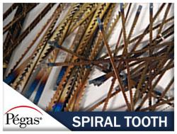 Spiral Tooth Scroll Saw Blades by Pegas