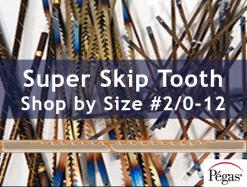 Pegas Super Skip Tooth Scrollsaw blades