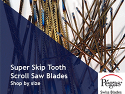 Super Skip Tooth Pegas Blades