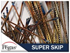 pegas super skip scroll saw blades