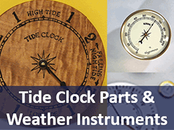 Tide Clock and Weather instruments DIY Parts
