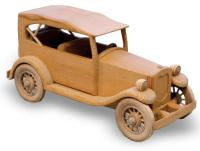 1929 Ford Phateon Woodworking Plan | Bear Woods Supply