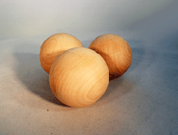 Wood Craft Ball 2-1/4 inch | Bear Woods Supply