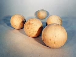 Wood Craft Ball 2-1/2 inch | Bear Woods Supply