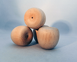 Wood Crab Apple Shape | Bear Woods Supply