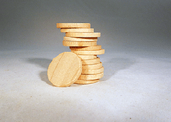 Wooden Discs For Crafts 1 inch | Bear Woods Supply