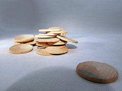 Wooden Discs For Crafts 1-1/2 inch | Bear Woods Supply
