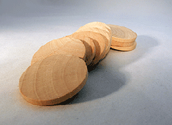 Wooden Discs For Crafts 1-3/4 inch | Bear Woods Supply