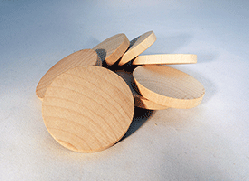 Wooden Discs For Crafts 2 inch | Bear Woods Supply