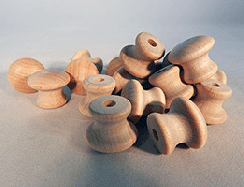 Wood Drawer Knobs 3/4 | Bear Woods Supply