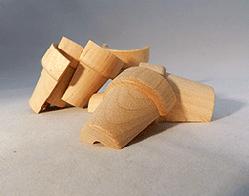 Wood Flower Pot 1-1/2 inch | Bear Woods Supply