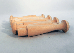Wooden Maple Shaker Pegs 3-1/2 inch | Bear Woods Supply