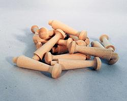 Wooden Shaker Pegs 1-3/4 inch   Bear Woods Supply