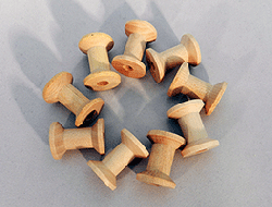 Wooden Spools 1-18 inch | Bear Woods Supply