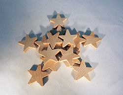 Wood Star Cut-Out 1-1/2 inch | Bear Woods Supply