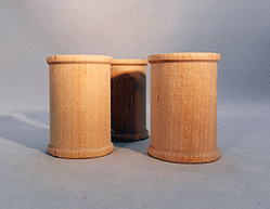 Wooden Spools  2-18 inch | Bear Woods Supply