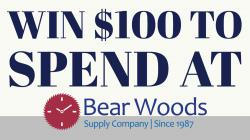 Enter to Win at Bear Woods