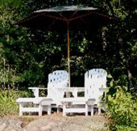buy plans to build adirondack chairs and stools | Bear Woods Supply