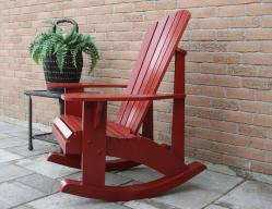 Adirondack Adult Rocking Chair Patterns Downloadable in Autocad