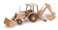 Woodworking Patterns Back Hoe Tractor | Bear Woods Supply