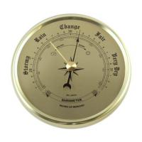 Barometer Clock Inserts 2-3-4 inches Gold | Bear Woods Supply