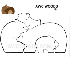 Scroll Saw Patterns Free And For Purchase Bear Woods Supply