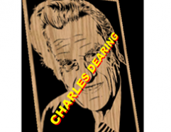 Reverend Billy Graham scroll saw pattern