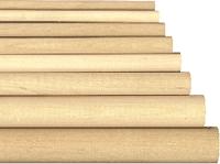 """Birch dowels in 4"""" birch dowels, 1.5 inch dowels, 4 inch dowels, hardwood dowelslengths of 1.5"""" diameter"""