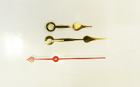 Brass Spade Clock Hands | Bear Woods Supply